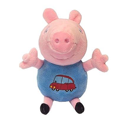 Amazon.com: Rosman Peppa Pig - Peluche de peluche con figura ...