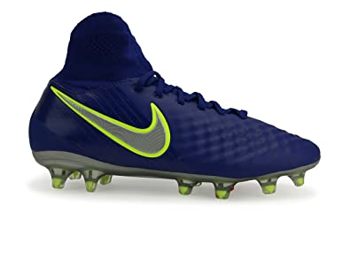 23adaf1e431e ... authentic nike kids magista obra ii fg deep royal blue chrome total  crimson shoes 28683 1a78f