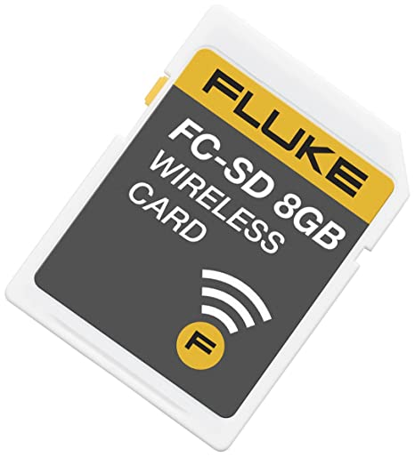 Fluke FLK-FC-SD CARD Fluke Connect Wireless SD Card: Amazon ...