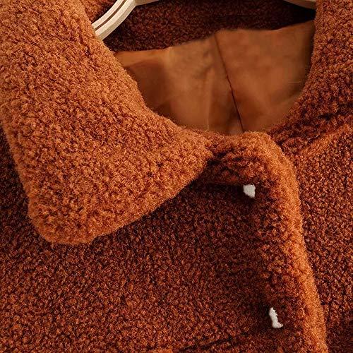 brunes pour femmes longues Kalorywee Parka à manches FqwzHn8
