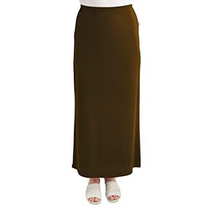 Monte Carlo Maxi ITY Modest Long Slinky Skirt at Women's Clothing store
