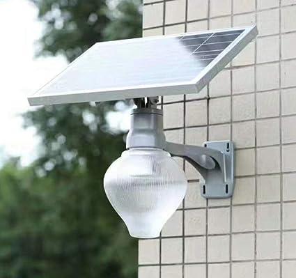 GAOYY Luz Solar LED Inteligente Seguridad del Sensor Movimiento Exterior Lámpara De Pared IP67 A Prueba