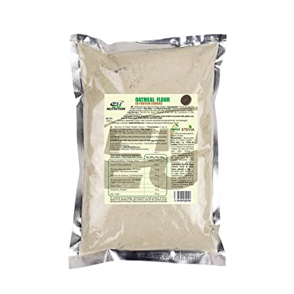 EU Nutrition Oatmeal Flour Cookies - 2 Paquetes x 1000 gr - Total: 2000 gr
