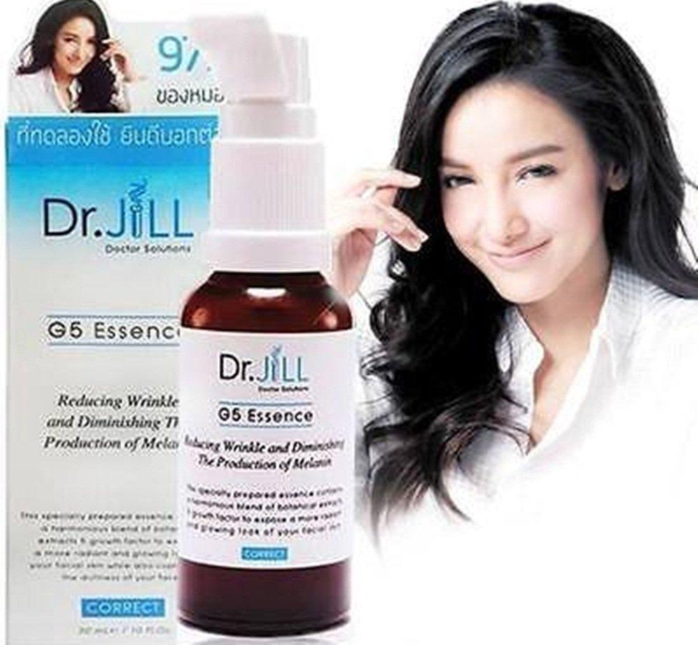 2pièces DR Jill G5Essence réduisant Rides blanchissant hydratant anti-âge Peau chaque 30ml Total 60ml