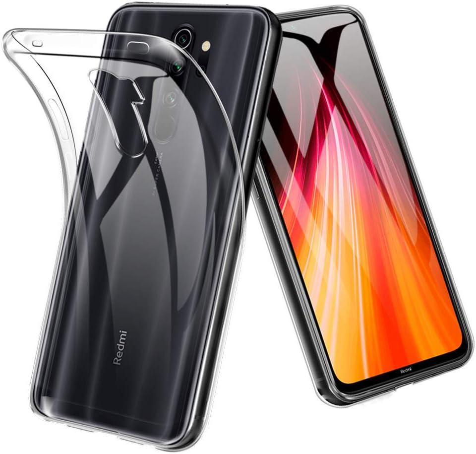 TopACE Funda para Xiaomi Redmi Note 8 Pro,Funda Transparente Suave ...