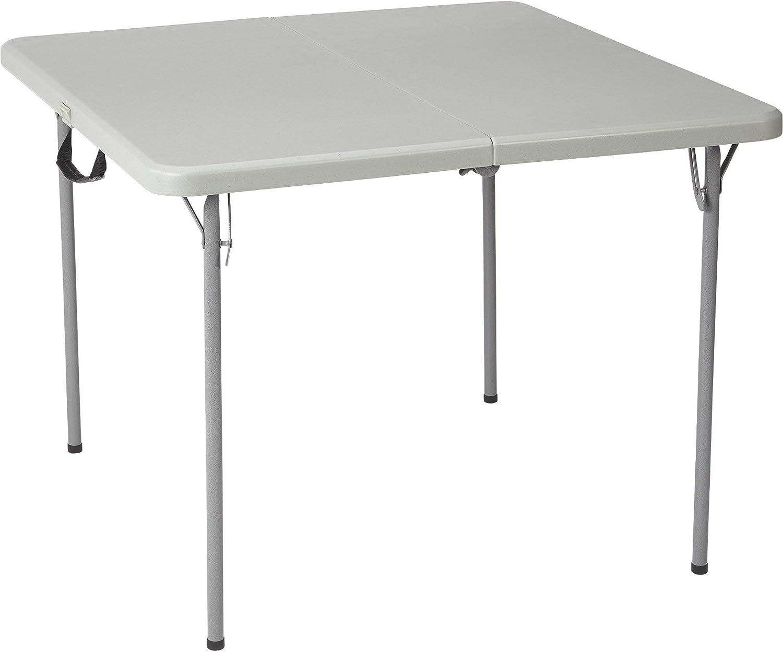 - Amazon.com: Ironton Square Plastic Folding Table - 3ft. X 3ft