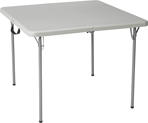 Ironton Square Plastic Folding Table – 3ft. x 3ft.