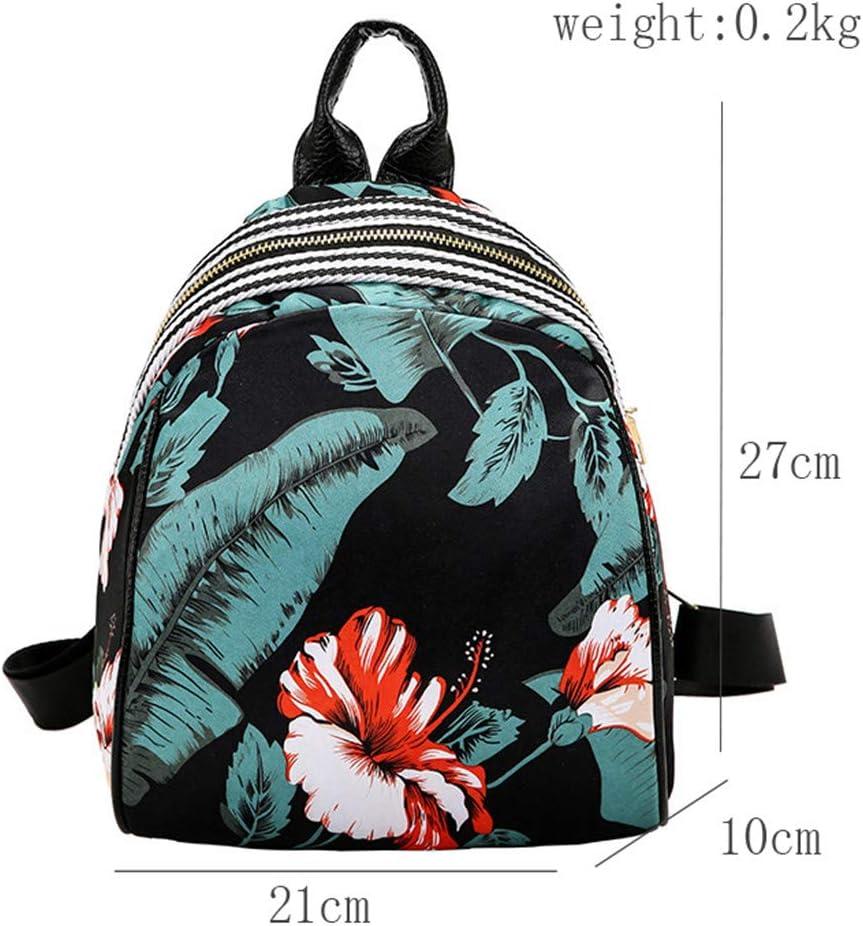 Moodn Loisirs Cuir PU Backpack L/éger Couleur Unie Daypack Travel Mode Sac /à Dos Quotidien Universit/é Antivol Bag Etanche Femmes Sac Petit