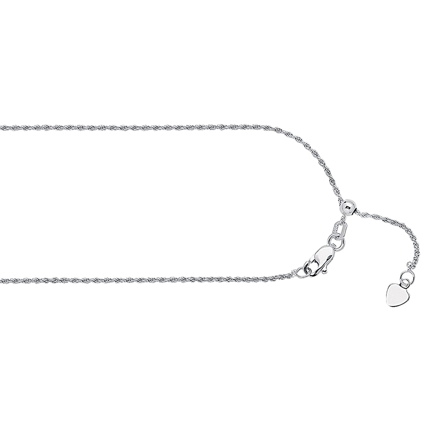 22 Inches Long Rope Chain 14Kt Gold Diamond Cut Rope Chain