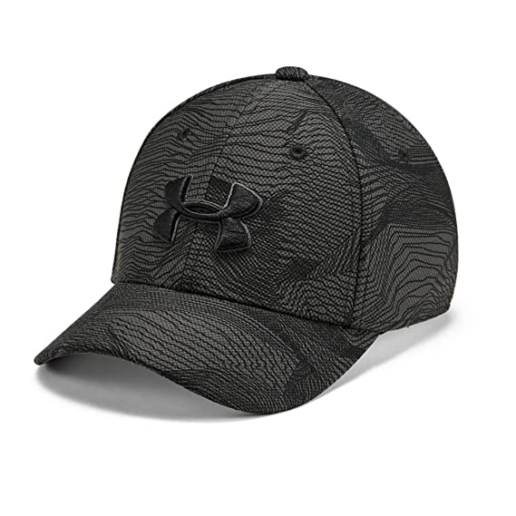 Under Armour Boys Printed Blitzing 3.0 Gorra, Niños, Gris, S/M ...
