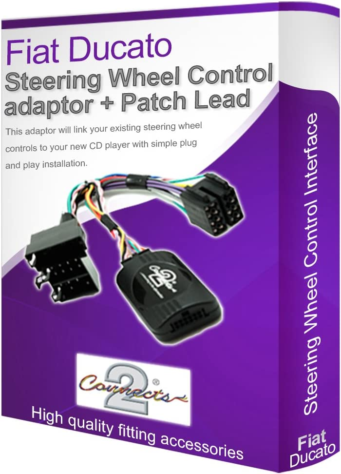 Botón de teléfono adaptador de control de dirección Soporte Para Fiat Fiorino Idea Punto Qubo