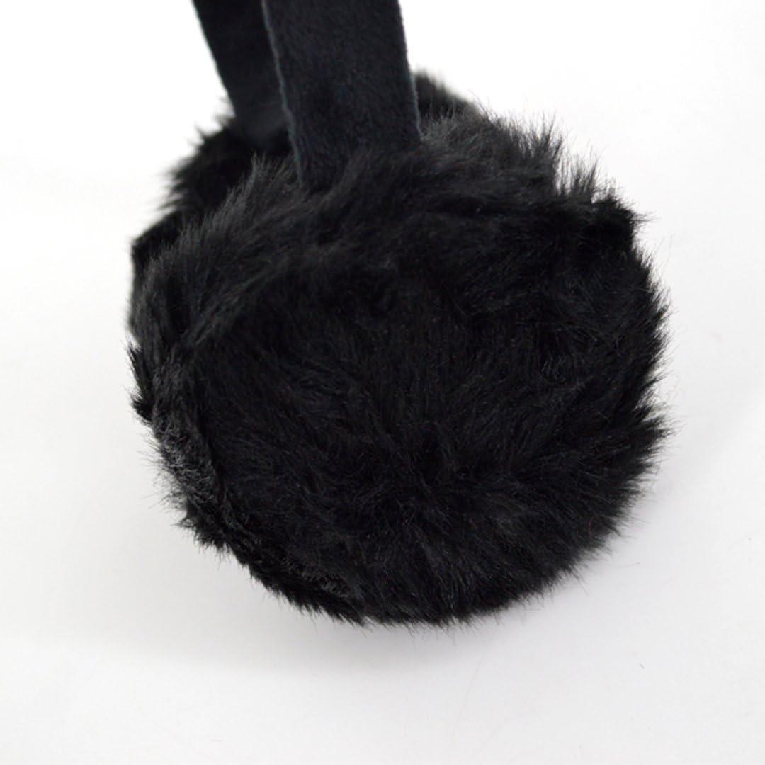 Winter Sport Figure Skating Female Athletes Winter Earmuffs Ear Warmers Faux Fur Foldable Plush Outdoor Gift