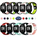Hagibis Fitbit Versa Bands Sport Silicone Replacement Breathable Strap Bands for New Fitbit Versa Smart Fitness Watch …