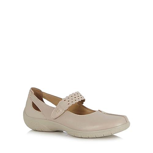 Hotter - Mocasines para Mujer Amarillo Crema Talla única, Color Amarillo, Talla 38: Hotter: Amazon.es: Zapatos y complementos