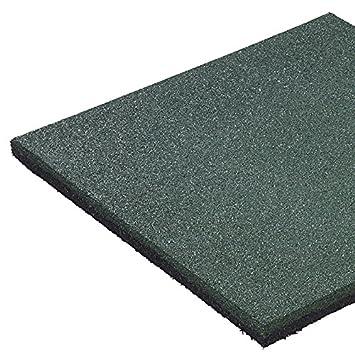 50 x 50 x 2,5 cm, autunno tappeto di protezione disponibile in diversi colori, protezione contro gli urti pavimento di piastrelle tappeto di gomma Mat del Gartenwelt Gartenwelt Riegelsberger