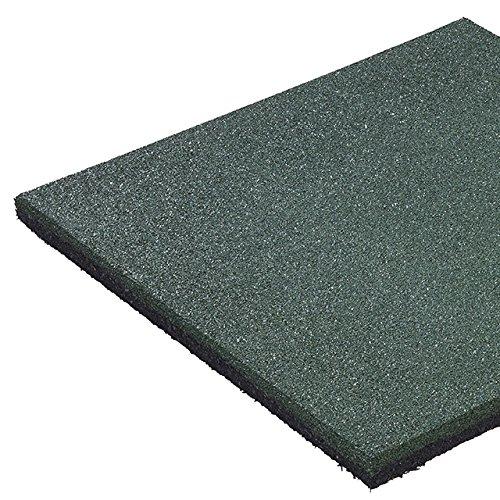 *10 Stück* Fallschutzmatte C+K 50 x 50 x 2,5 cm, grün = 2,5 m²