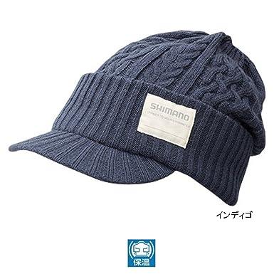 Shimano Knit Watch Hat - Blue  Amazon.co.uk  Clothing c2915f7d644f