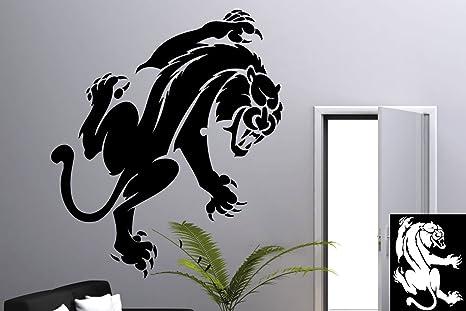 Kleb drauf® 1 panther sticker per la decorazione di pareti
