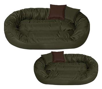 BedDog Sunny Verde XL Aprox. 85x70cm colchón para Perro, 13 Colores, Cama para Perro, sofá para Perro, Cesta para Perro: Amazon.es: Productos para mascotas