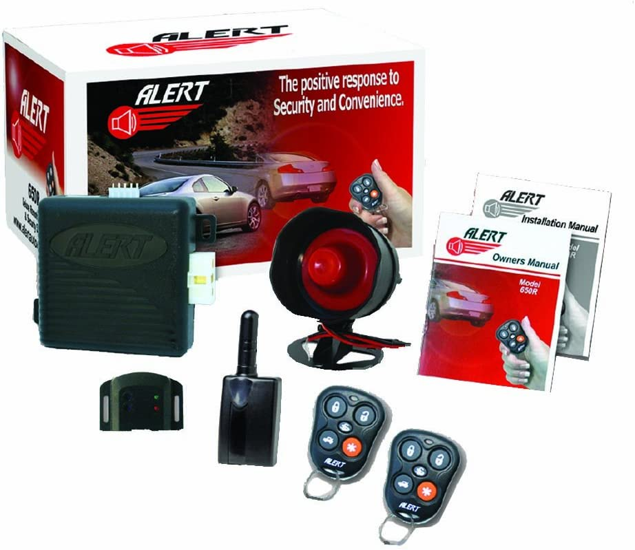 Alert 650R Remote Starter with Alarm