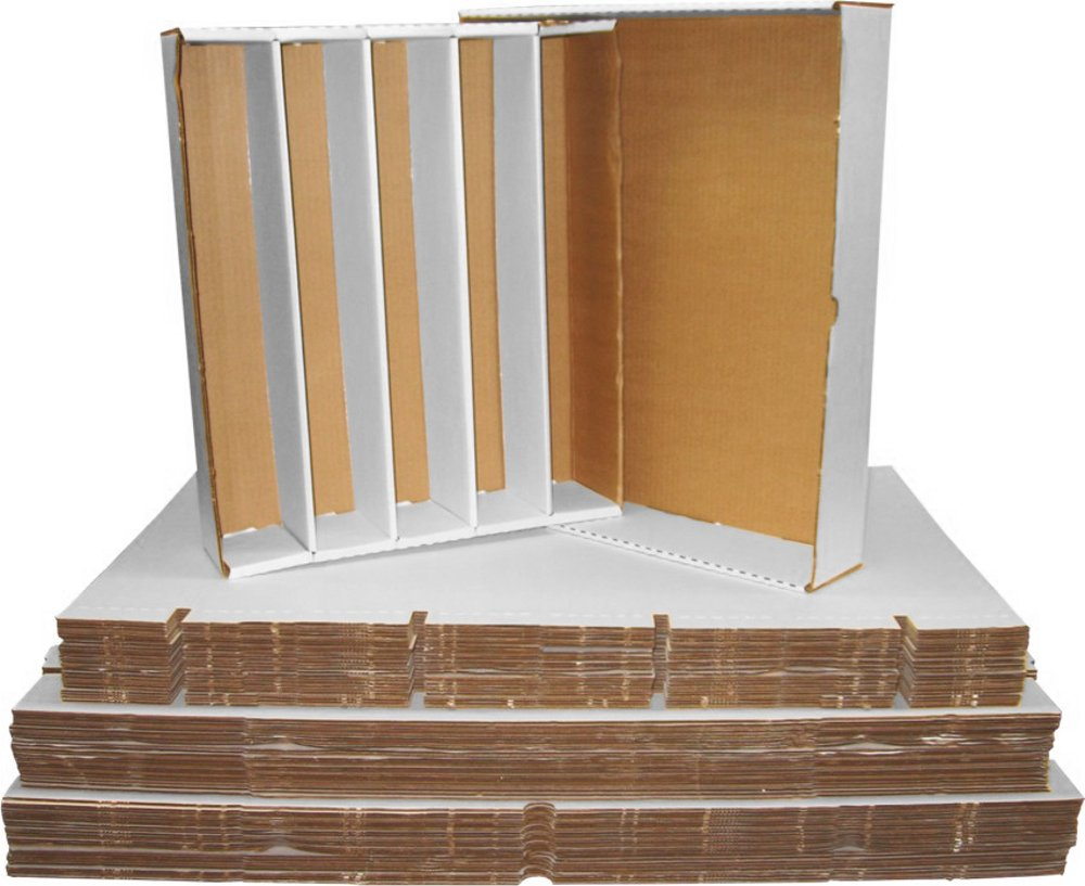 (25) BCW Brand Trading Card Cardboard Super Monster Storage Box with Full Lid - 5000 Card Capacity - BCW-5000 by BCW Diversified