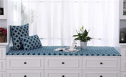 Superb Amazon Com Dmxj Thickened Window Seat Cushions Indoor Bay Machost Co Dining Chair Design Ideas Machostcouk