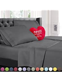 queen size bed sheets set gray highest quality bedding sheets set on amazon 4
