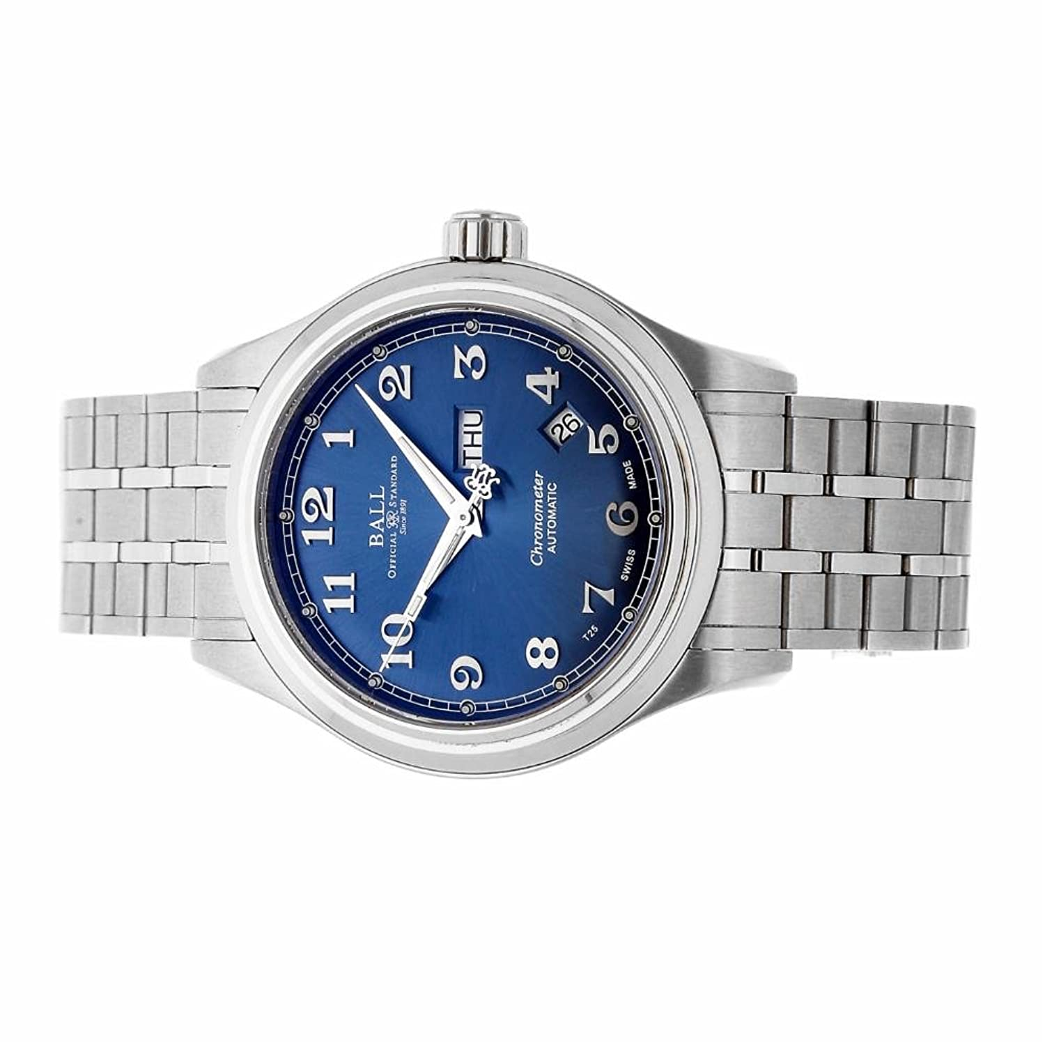 Amazon.com: Ball Watch Company Trainmaster automatic-self-wind mens Watch NM1058D-SCJ-SL (Certified Pre-owned): Ball Watch Company: Watches