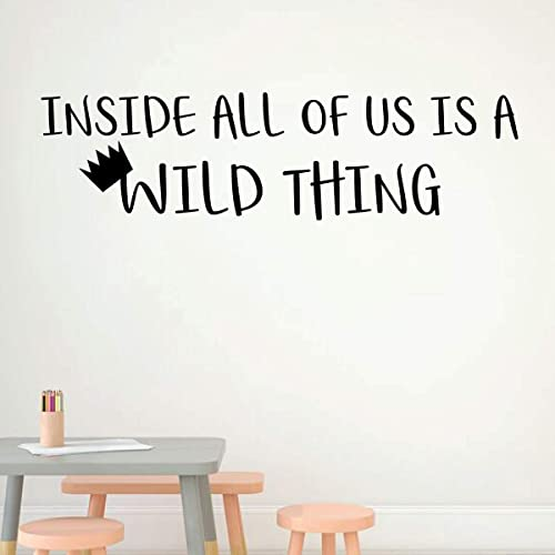 Amazon.com: Where The Wild Things Are Wall Decal - Inside ...