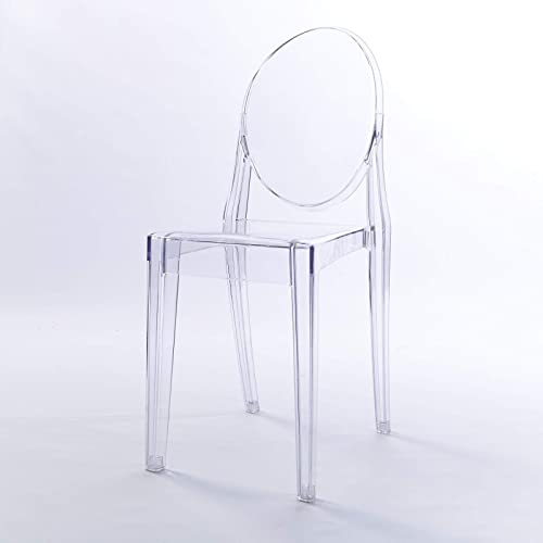 Clear Kitchen Chairs: Clear Chairs: Amazon.co.uk