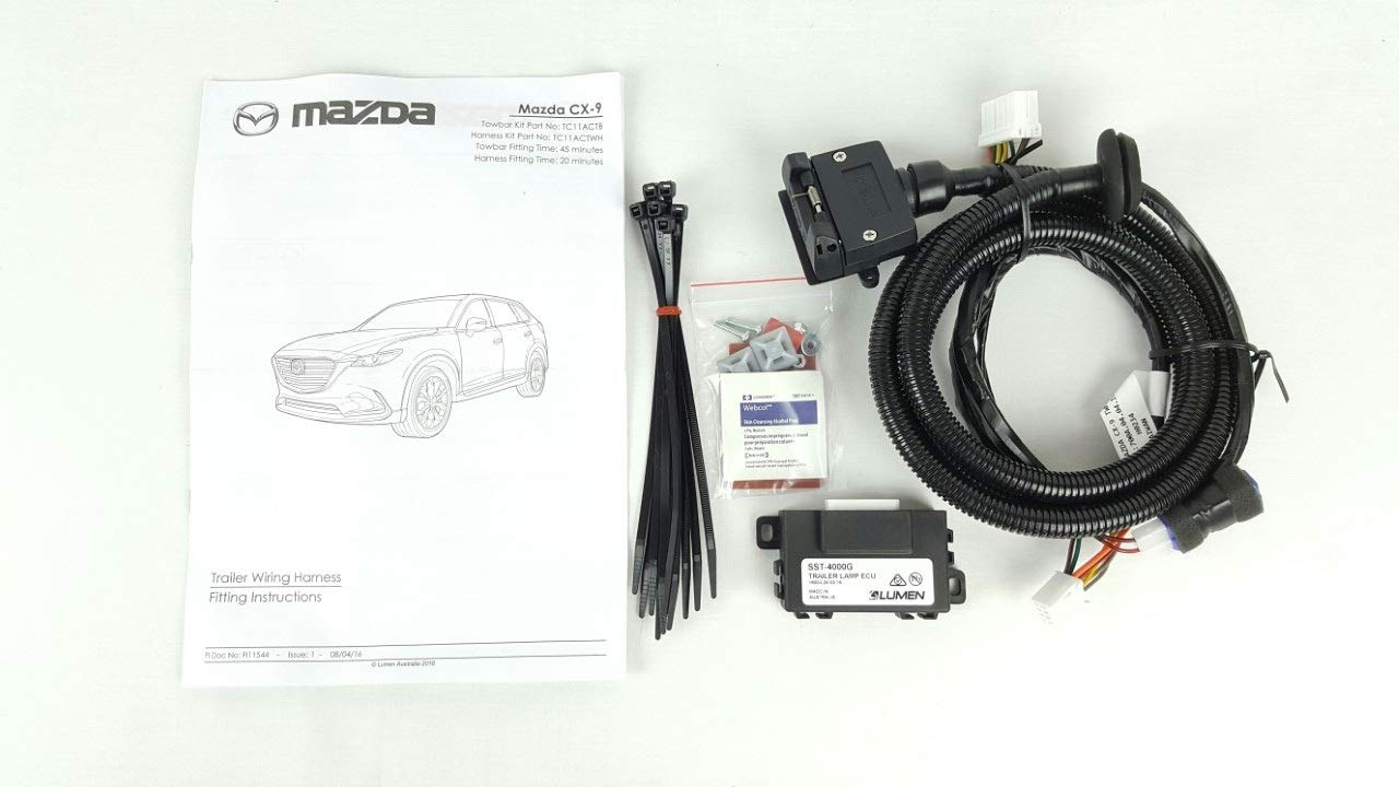 Genuine Mazda Cx 9 Tc Towbar Wiring Harness Cx9 2016 Current Muscle Car Tc11actwh Automotive