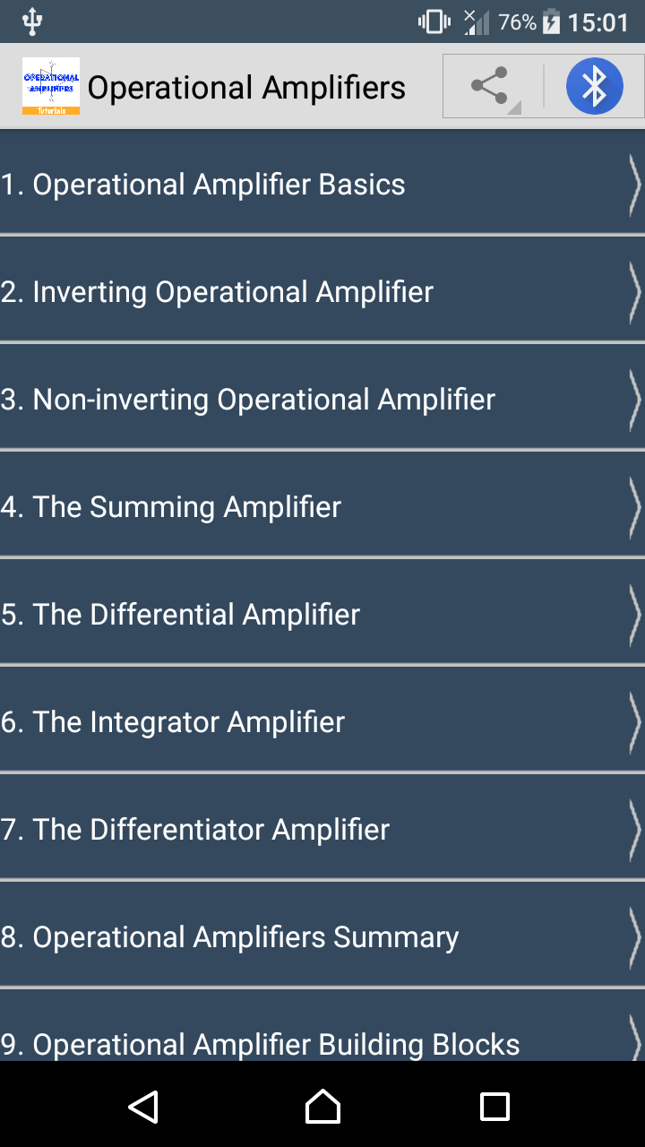 Learn Operational Amplifiers Ebook Appstore For Android Summing Amplifier 000