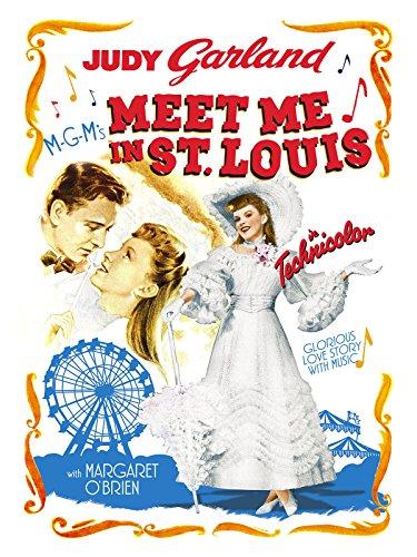 Amazon Com Meet Me In St Louis Judy Garland Margaret O