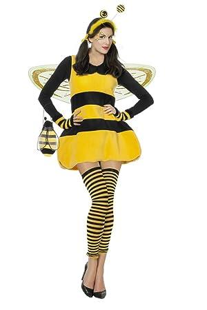 Damen Kostum Biene Hummel Karneval Fasching Gr 36 Amazon De Spielzeug
