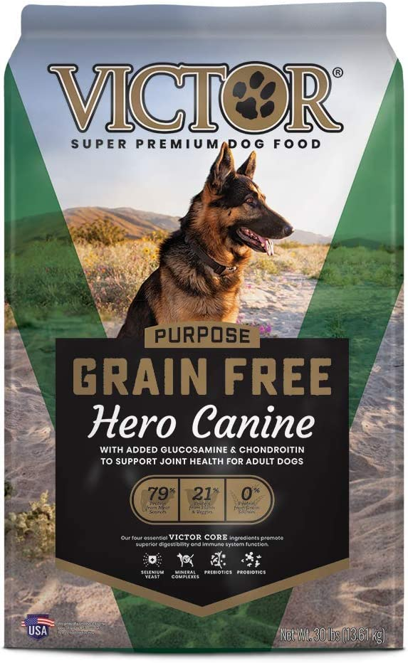 VICTOR Purpose – Grain Free Hero Canine, Dry Dog Food
