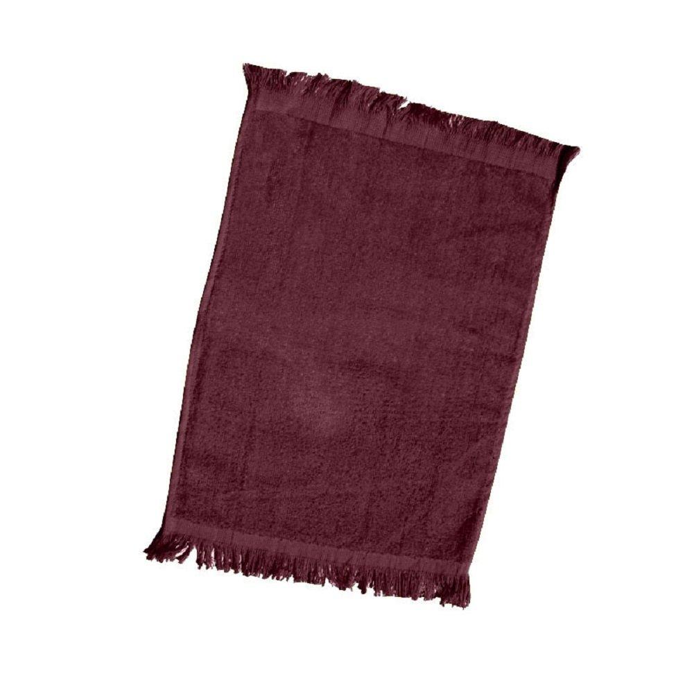 (10 Pack) Set of 10- Promotional Priced Fingertip Towels TBF_TL11_10_Black