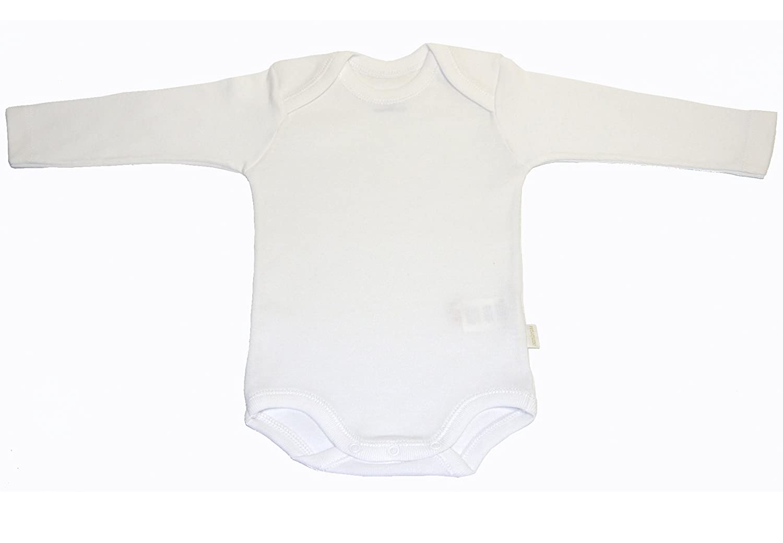 Body de manga larga para beb/é blanco Talla 3 meses Cambrass