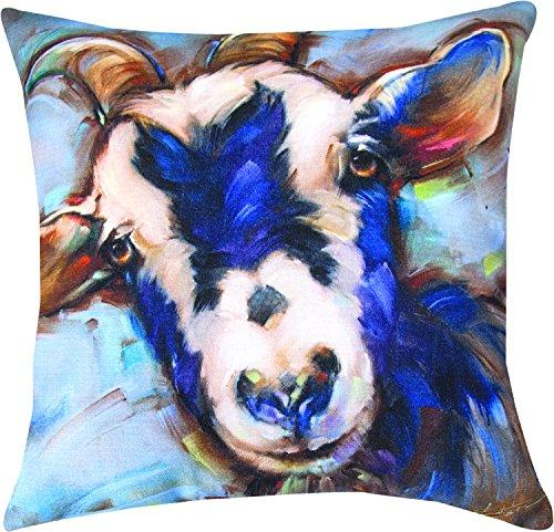 Manual Woodworkers & Weavers Indoor/Outdoor Climaweave Throw Pillow, Otis, 18