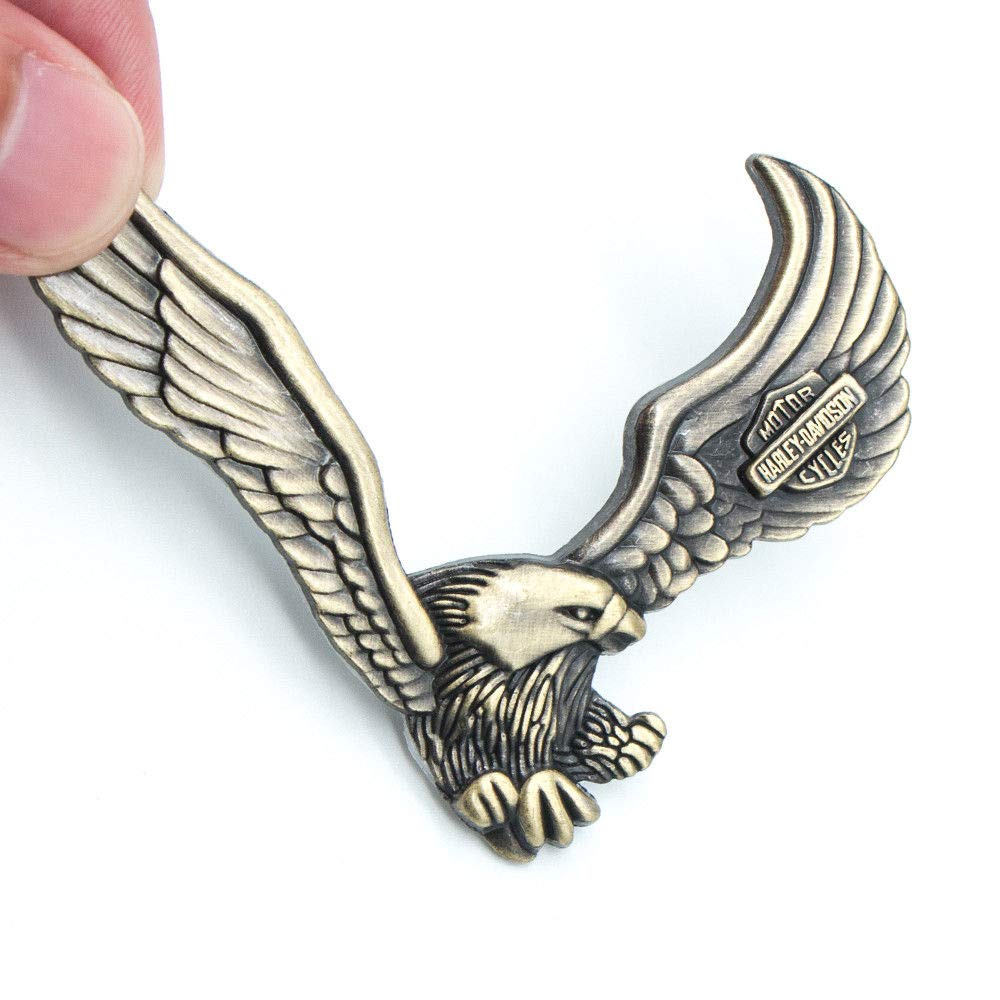 Incognito 7 3d harley davidson eagle metal sticker for all cars jeeps bikes bronze amazon in car motorbike