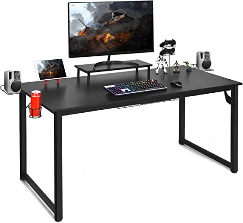 Tangkula 63 Inches Computer Desk Gaming Desk