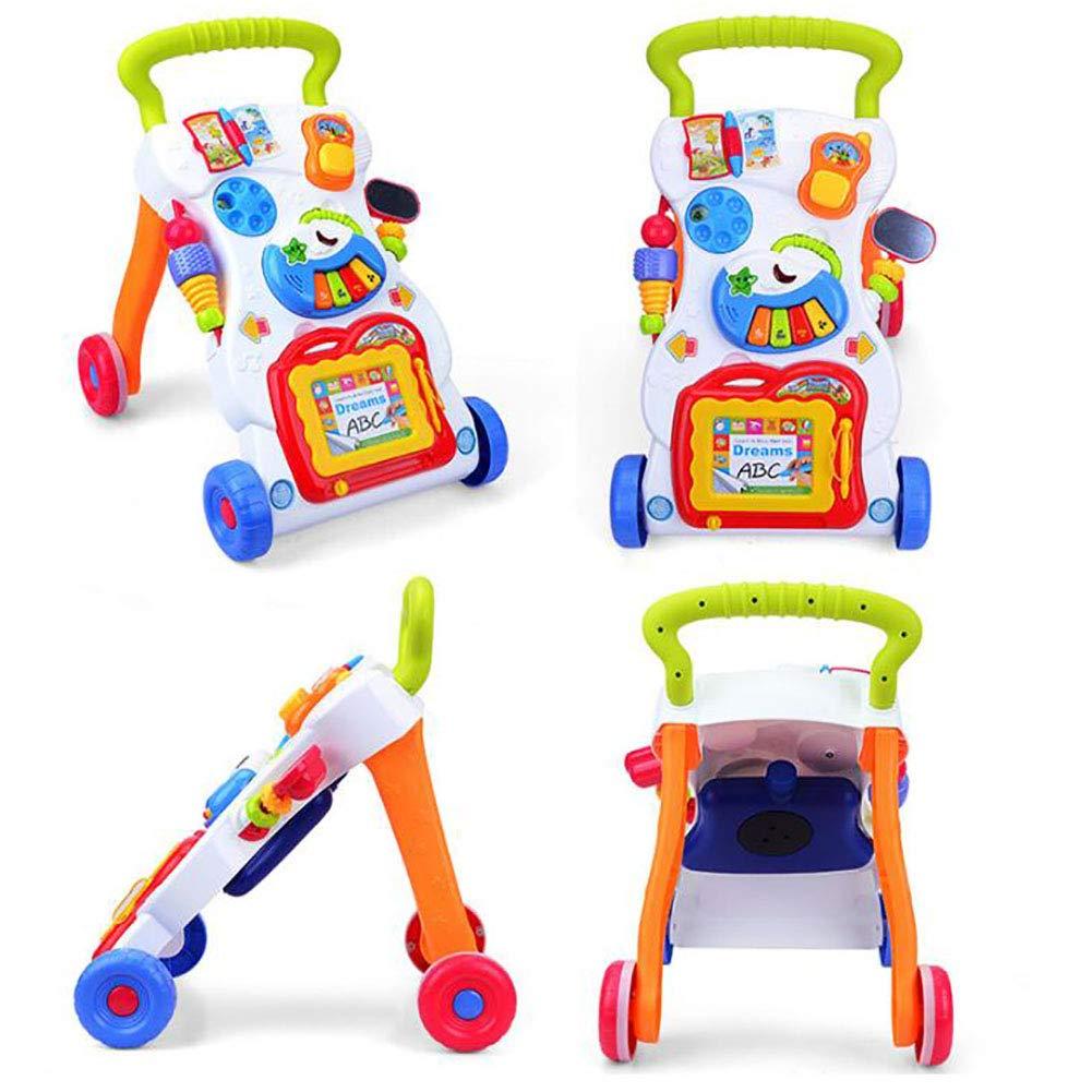 Amazon.com: XICHENG Carro de bebé multifunción ajustable de ...