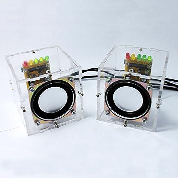 KKmoon Gran música sonido amplificador electrónica DIY Kit Mini ...