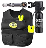 New Xtreme Sport 1.7CF Spare Air Package for Surfers & Kayakers with Fill Adapter that Allows the User to Fill Directly from a Standard Fill Whip at Their Local Dive Shop