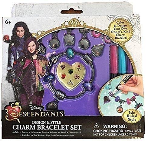 alto descuento Disney Descendants Descendants Descendants Design & Style Charm Bracelets Set - Isle Rules by Disney  bienvenido a comprar