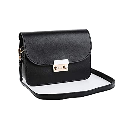 c87206e0a9 Image Unavailable. Image not available for. Color  Clearance Kumike Fashion  Women s Shoulder Bag Contrast Color Trends Wild Easy to Match Messenger Bag