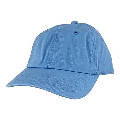 b5bc84753d1 ... buying cheap de8c7 890ef Plain Adjustable Cotton Dad Hat Unstructured  Low Profile Baseball Cap - Sky ...
