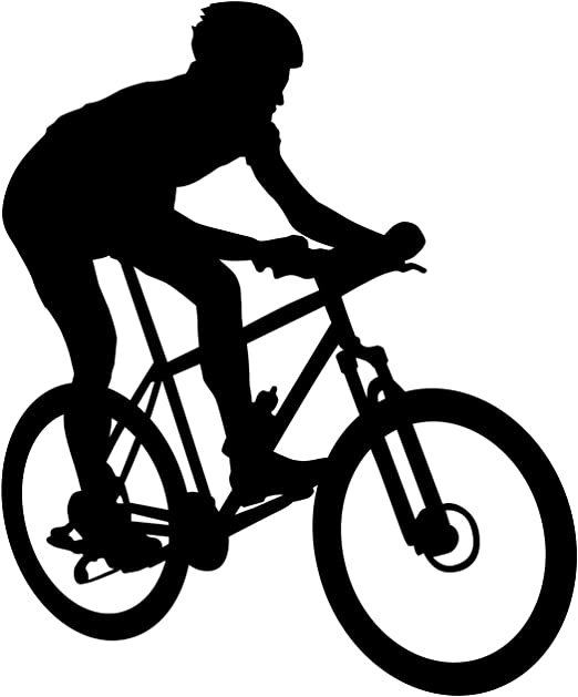 Bicicleta Pared Adhesivo 11 – Adhesivo mural de pegatinas y para ...
