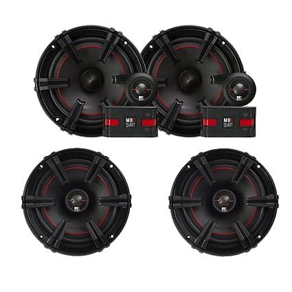 """Pairs MB QUART FSB216 6.5/"""" 280 Watt Car Audio Component Speakers 2"""
