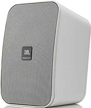 JBL Control X Monitor Bookshelf Speaker System With Included Wall Mount Brackets