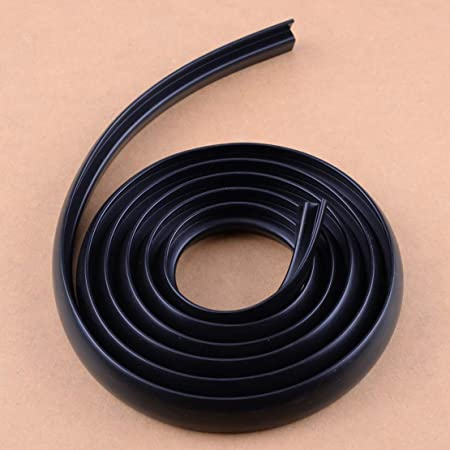 1.7M Car Ageing Rubber Under Front Windshield Panel Sealed Trim Moulding Strips